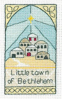 Bethlehem Cross Stitch Kit By Heritage Crafts