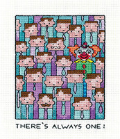 Always One Cross Stitch Kit By Heritage Crafts