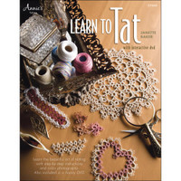 Learn to Tat Book with interactive DVD