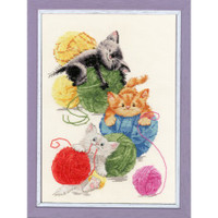 Balls Cross Stitch Kit by Golden Fleece