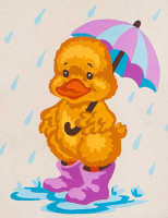 Puddle Duck CANVAS By Grafitec