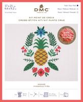 Pineapple Cross Stitch Kit By DMC