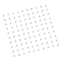 Bling Bling: Diamantes: 2mm: Iridescent 100 per pack