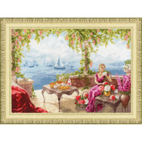 Morning by the sea Cross Stitch Kit by Golden Fleece