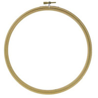 WOODEN EMBROIDERY BAMBOO HOOP SIZE 14 INCHES