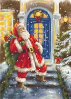 Santa's Visit Cross Stitch Kit By Luca S
