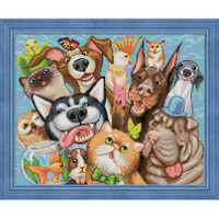Animal Selfie Diamond Painting Kit