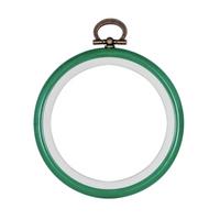 Hoop: Flexi: Round: 7.6cm/3in: Green