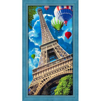 Sky Over Paris Diamond Painting Kit