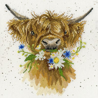 Daisy Coo Cross Stitch Kit by Wrendale designs