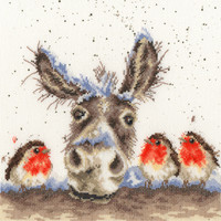 Christmas Donkey Cross Stitch Kit by Wrendale Designs