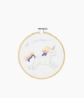 DMC Unicorn Cross Stitch Kit with Hoop