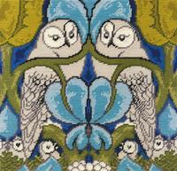 The Owl Tapestry Kit by Voysey