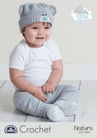 DMC Crochet Pattern: Baby Hat & Bootees Crochet Pattern