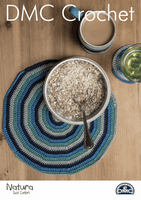 DMC Crochet Pattern: Spiral Placemat and Coasters