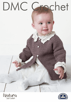 DMC Crochet Pattern: Baby Cardigan