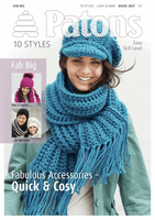 Patons Pattern Book: Fab Big: Accessories hats and scarves