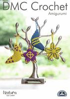 DMC Crochet Pattern: Moon and Stars Decorations