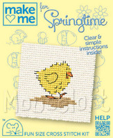 Make me for springtime Chick Cross Stitch Kit by Mouseloft