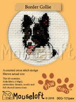 Border Collie Cross Stitch Kit by Mouseloft