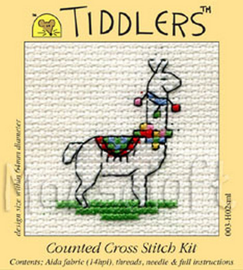 Beehive Mouseloft Tiddler Mini Counted Cross Stitch Kit