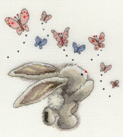 Bebunni Butterfly Cross Stitch Kit by Bothy thyreads