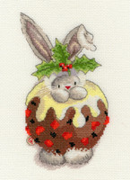 Bebunni Christmas pudding Cross Stitch Kit by Bothy threads