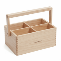 Wooden Craft Caddy