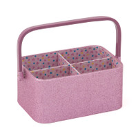 Craft Organiser: Small: Rose Glitter