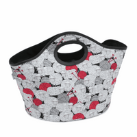 Craft Bag  Handheld Tote Fun Sheep