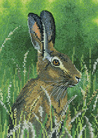 Hare Cross Stitch Kit By Heritage Crafts