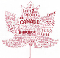 Let's Visit Canada Cross Stitch Chart By Ursula Michael