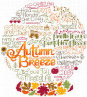 Let's Breeze Into Autumn Cross Stitch Chart By Ursula Michael