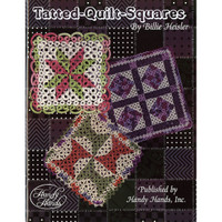 Tatted, Quilt, Squares Book - By Handy Hands