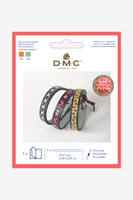 DMC Leatherette Bracelet Embroidery Kit