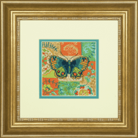Needlepoint Kit: Mini: Butterfly Pattern Kit By Dimensions