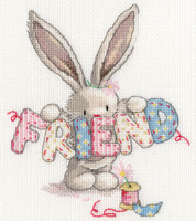 Bebunni - Friend Cross Stitch Bit By Bothy Threads