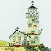 New England: The Lighthouse Cross Stitch Kit By Bothy Threads