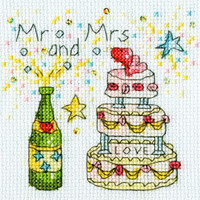 Cheers Card Cross Stitch Kit By Bothy Threads