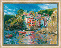 Liguria Cross Stitch Kit By Riolis