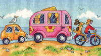 Are We There Yet? Cross Stitch Kit By Heritage Crafts