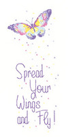 Spread Your Wings Cross Stitch By Peter Underhill Collection