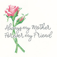 Always My Mother Cross Stitch Kit By Peter Undrhill