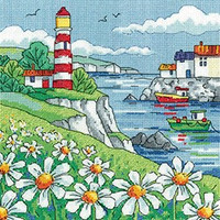 Daisy Shore Cross Stitch Kit By Heritage