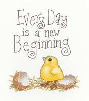 A New Beginning Cross Stitch Kit By Peter Underhill