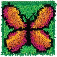 Butterfly Larch Hook Rug Kit By Wonderart - Caron