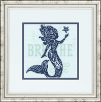 Counted Cross Stitch Kit: Mermaid Song By Dimensions