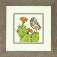 Counted Cross Stitch Kit: Prickly Owl By Dimensions