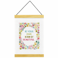 Counted Cross Stitch Kit: Banner: Own Kind of Beautiful By Dimensions