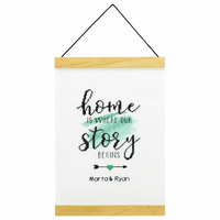 Counted Cross Stitch Kit: Banner: Story Begins By Dimensions